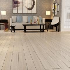 大山纹白橡强化木地板平面光压现代风格 1216*167*12mm