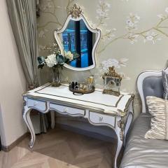 凡尔赛的浪漫 H22404-0259D 妆台连镜