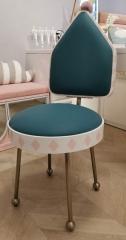 简欧风格-梵克雅宝 H21604-0412D 书椅
